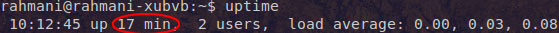 linux-uptime